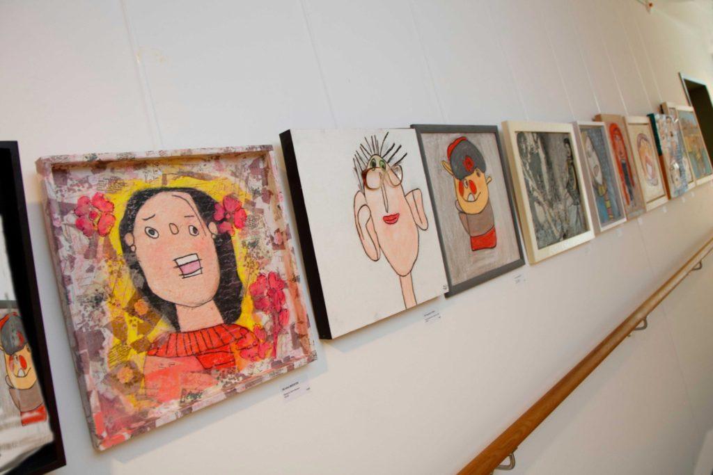 Galerie de tableaux exposés à Betzdorf