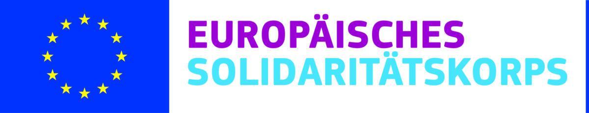 DE european solidarity corps LOGO CMYK